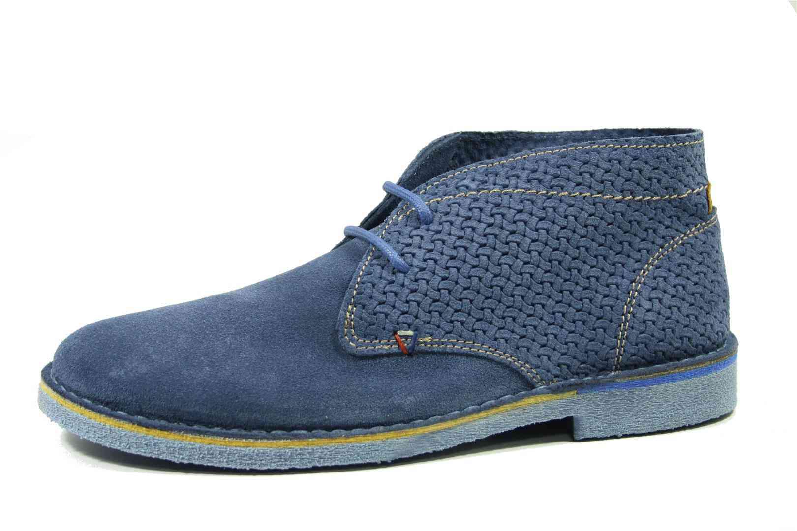 Polacchino uomo blue camoscio estivo – Wrangler – CHESCARPE 44f7f89b591